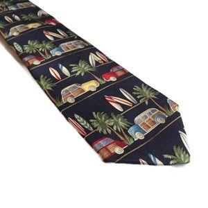 Talbots Kids Surfboard Silk Necktie